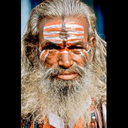 338194 Portraet eines Sadhu heiliger