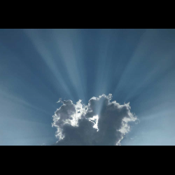 463772 Germany Bavaria Sun rays
