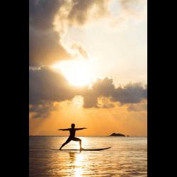 1265462 Thailand man doing yoga