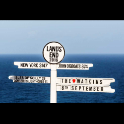 1283930 UK Cornwall Sign post